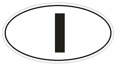 ROME Country Code Oval Bumper Sticker or Helmet Sticker D1003 Italy