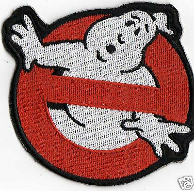 4 inch GHOSTBUSTERS IRON ON  PATCH BUY 2 GET 1 FREE = 3  OF THESE