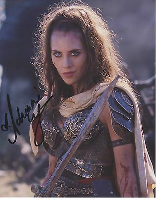 Adrienne Wilkinson Xena Warrior Princess Actress Signed 8x10 Photo