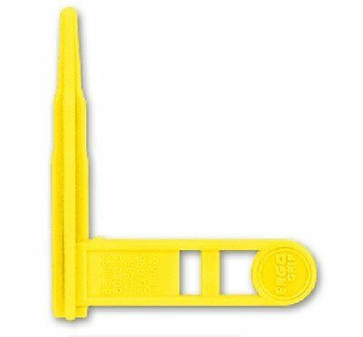 Ergo Grip Safety Chamber Flag Yellow Set of 3 NO TAX FREE SHIPPING