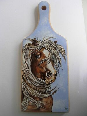 Hafling  Horse  Handpainted Wooden Cutting Board