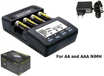 Maha Powerex MH-C9000 charger-analyzer for AA AAA (EU Plug) NK022 FR