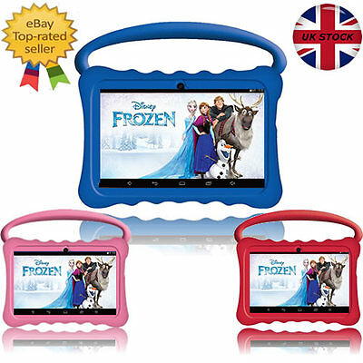 "New 7"" Inch Btc® Flame Kids Handle Tablet Child Proof Hd Screen 8Gb Android 6"