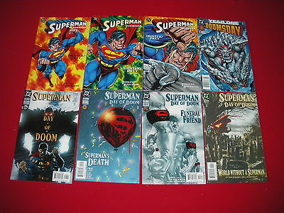 Superman Doomsday Hunter/prey  #1 - 3  Day Of Doom #1 - 4 Year One 1995  New/nm