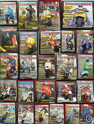 Scootering Magazines Scooter 2006 2007 2008 Various