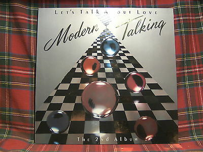 Modern Talking # Let's Talk About Love # The 2nd Album  # LP
