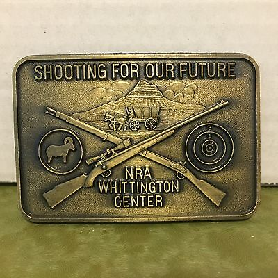 NRA Whittington Center Shooting for our Future Belt Buckle