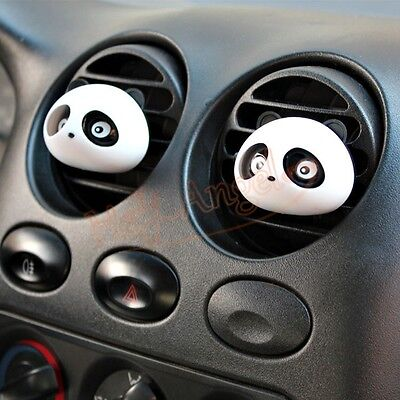 2x Air Freshener Car Perfume Auto Accessories Creative Styling Decoration Panda