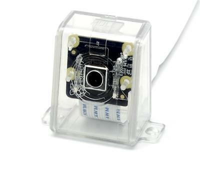 New NOIR Raspberry Pi Camera V2 8M  Clear Camera Case by SB Components