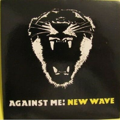 Against Me New Wave Rare Promotional Sticker FREE SHIPPING!!!