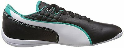 PUMA DRIFT CAT 6 MAMGP MERCEDES-BENZ  leather black-white-spactra green size:9US