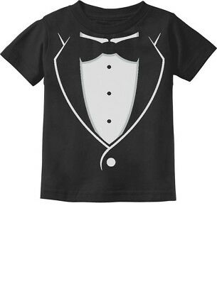 Tuxedo With Black Bow Tie Funny Toddler/Infant Kids T-Shirt Gift Idea