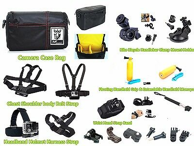 GZ6u Sport Action Cam Camera Camcorder Accessories kit for Veho Muvi HD K2 K1