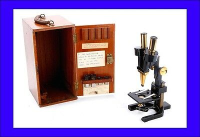 Antique W. Watson & Sons Dissection Microscope. England, Circa 1900