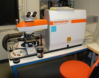 Used Renishaw In Via Reflex Micro Raman Spectrometer, 2009