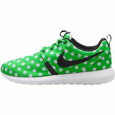 835620b948d05 Nike Roshe NM QS Mens Shoes Green Strike Black White Polka Dot 810857 300
