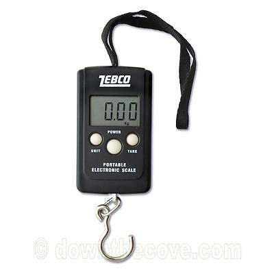 Zebco Digital Pocket Scale - Portable Electronic Fishing Scale - 1st Class Post!