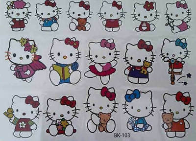 Temporary Tattoo H KITTY Great for Party Bags