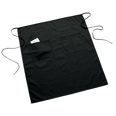 2 New Waiter Server Full Bistro 2 Pocket Waist Apron Black  Aprons