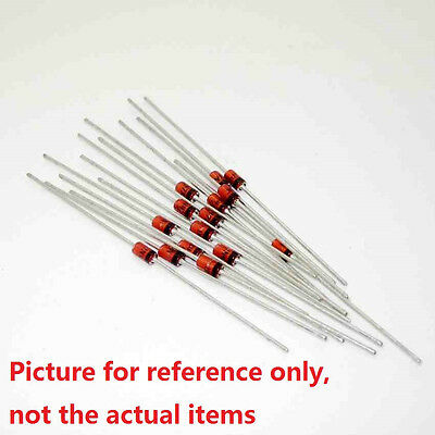 10Pcs 1N60 1N60P IN60 SCHOTTKY Diode 45V 30mA DO-35 DIP