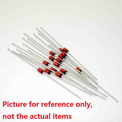 100Pcs 1N60 1N60P IN60 SCHOTTKY Diode 45V 30mA DO-35 DIP