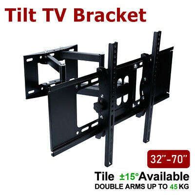 AUS TV Wall Mount LCD LED Swivel Bracket 32 40 42 46 50 52 55 60 62 63 64 65 70