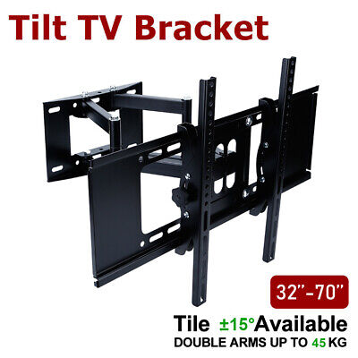 LCD LED TV Wall Mount Swivel Bracket 32 40 42 46 50 52 55 60 62 63 64 65