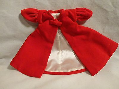 Vintage Barbie Dolls Red Flare Coat Mint 1998 Reproduction of the Original 1962