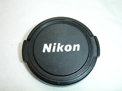 ONE Genuine NIKON 52mm front lens cap . Made in Japan  Good condition