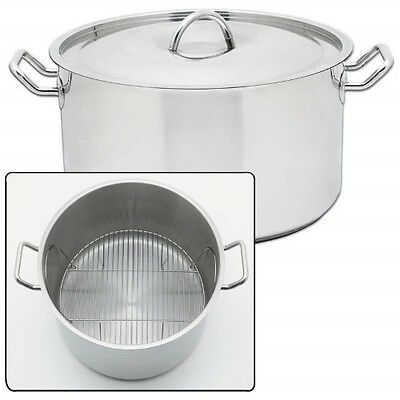 Precise Heat 42 Qt Waterless Stock Pot Stainless Steel Large Commercial Kettle
