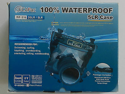 DSLR/SLR waterproof camera case DiCAPac WP-S10