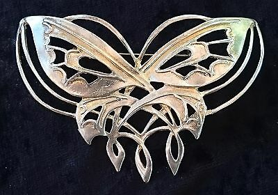 RARE Official Lord of the Rings 925 Silver Arwen Butterfly Pin LOTR NLP. Italy