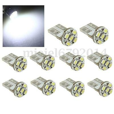 Lot T10 501 W5W 5 SMD LED Xenon White Canbus Car Wedge Side Interior Light Bulbs