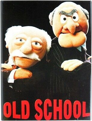 Old School-The Muppets Kult Kühlschrank Magnet 6x8 cm Tin Sign EMAG83