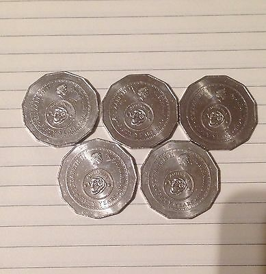 2016 Australia 50th Anniversary of Decimal Currency 50 Cent Coin 50c