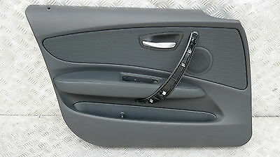 BMW 1 SERIES E87N LCi DOOR CARD LINING PANEL FRONT LEFT N/S ELEKTRA / ANTHRACITE