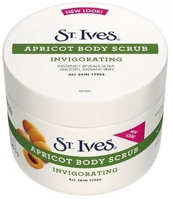 St. Ives Invigorating Apricot Body Scrub 300ml Pack Of 2