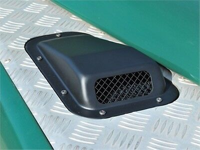 110 130 SINGLE AIR INTAKE GRILLE STAINLESS STEEL LH LAND ROVER DEFENDER 90