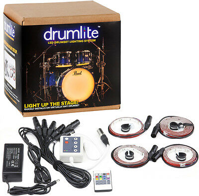 Drumlite DLK7S LED Drumset Lighting System for Drums/percussion