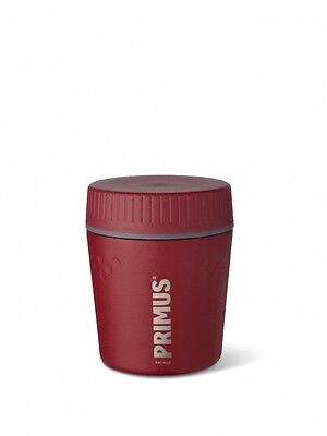 Primus Thermo Speisebehälter Foodcontainer Edelstahl 0.4l Lunch Jug  rot