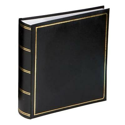 Grafton Black 7x5 Slip In Photo Album - 200 Photos