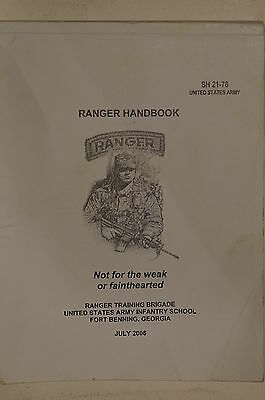 US Ranger Training Brigade Army Infantry School Georgia 2006 Reference Book