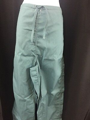 ONE NEW PAIR HUMAN TECHNOLOGIES Men's Surgical Operating Trousers Medium Green
