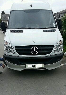 MERCEDES SPRINTER 2006 ONWARDS Front Bumper spoiler ( ADD-ON). NEW !!!