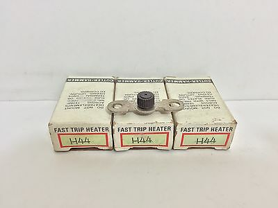 (3) New! Eaton / Cutler-Hammer Overload Relay Thermal Units H44