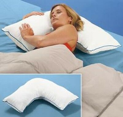 Side Sleeper THERAPEUTIC Neck Back MEGA Pillow Very Comfy NEW!