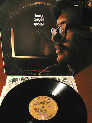 LARRY CORYELL (Corea/McLaughlyn/Vitous/Cobham- Spaces -LP- Vanguard -USA-1970
