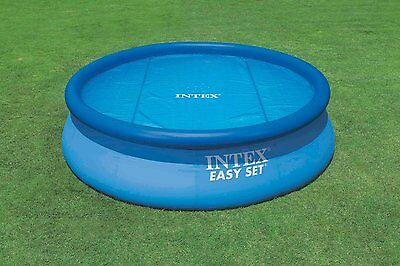 Intex 8ft Solar Pool Cover for Frame & Easy Set Pool.Help Keep Water Warm #29020
