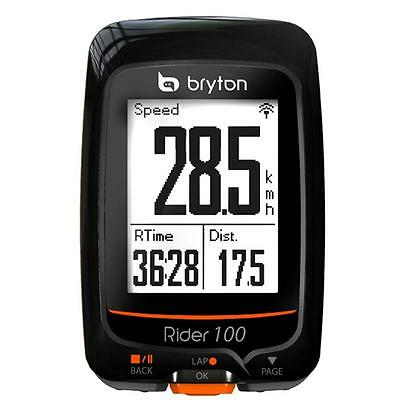 BRYTON Rider 100 ANT+ Bike GPS Computer 36 Functions 100E BLUETOOTH 4.0
