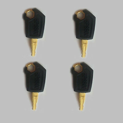 4 x New Ignition Loader Dozer Key 5P8500 For Caterpillar(CAT) Heavy Equipment